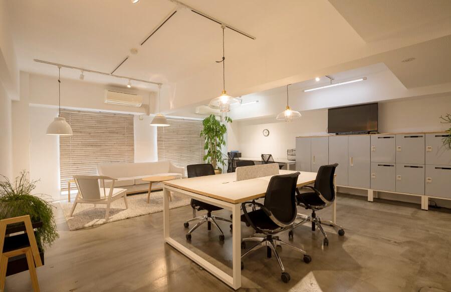 自由な空間づくりができるオフィス