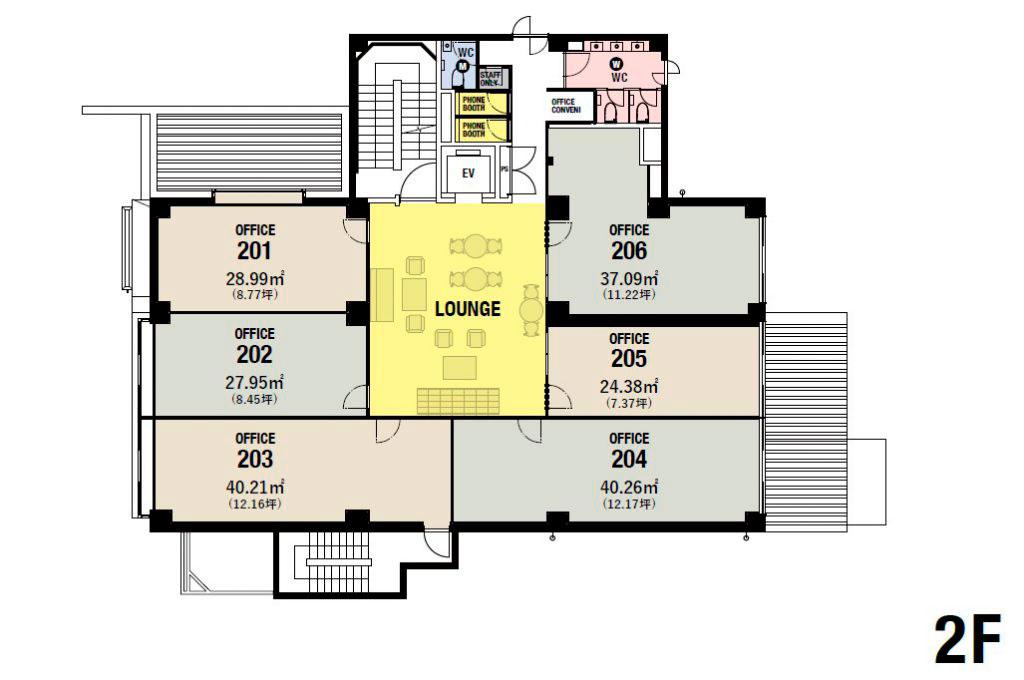 2階フロアMAP